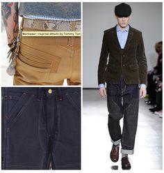 workwear details on modern bodies