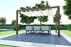 LuxxOut Terrasoverkappingen | Doekzonweringen voor terras, veranda en tuin