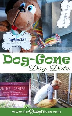 Dog-Gone It!  You need a date! Try this fun dog-themed day date with some fun printables to boot.  www.TheDatingDivas.com #datenight #dateideas #thedatingdivas
