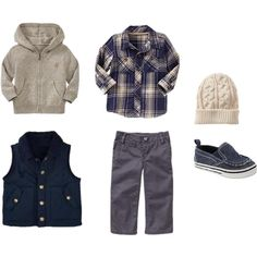 """""""Infant Boy Fall"""" by swtginger on Polyvore"""