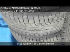 2010 Audi A8 Wheels/Tires 2010/2011/2012 - for sale in Miami Fl 33154