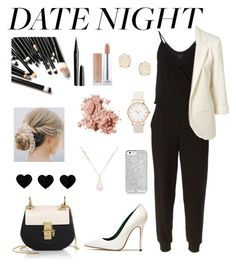 """""""Date Night"""" by forevagorgeous ❤ liked on Polyvore featuring moda, Theory, Chloé, Acne Studios, Kendra Scott, White House Black Market, Bobbi Brown Cosmetics y Marc Jacobs"""