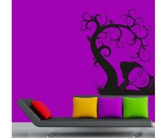 Relaxing #Tree and #Buddha #wall #sticker by meSleep available on http://www.makenlive.com/products/9461/walls-and-paints/wall-stickers/Relaxing%20Tree  #art #decor #home