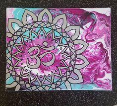 #mandala #painting #artwork # #acrylic #handpainted #amethystfiree #shewhocreates  https://www.etsy.com/listing/559629752/mandala-wall-art-acrylic-on-canvas-8x10