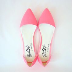 Pointed flats