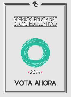 Premios Educa.net 2014 Esta es su primera edición. Consiste en votar los mejores blogs temáticos que son concedidos por reconocidos expertos. Como sabéis, yo estoy especializado, por mi trabajo, en Social Business. Compito con otros compañeros de profesión en la categoría de MARKETING.