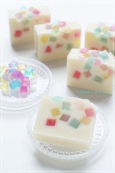 夏菓子のような石けん |sakura iro 色 大阪・吹田 手作り石けん教室