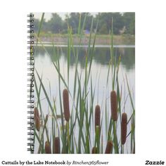 Cattails by the Lake Notebook