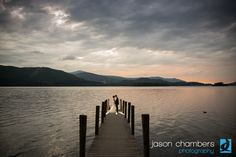 Ash & Dom's wedding at The Lodore Falls was stunning, and they were able to catch the sunset on the Jetty