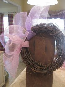 Kristen's Creations: ~~Easter Mesh Wreath Tutorial~~