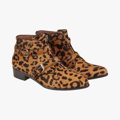 Boots Windle léopard - Tabitha Simmons #LeBonMarche #Tendance #CrazyAnimals #Mode #Femme #Fashion #women #Animal