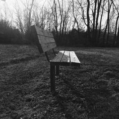 Lonely bench.