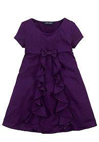 Ralph Lauren Childrenswear Cascading Ruffles Dress Toddler Girls