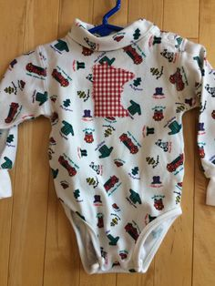 Minnesota Fireman Baby Onesie ~ Size x-Small ~ UPcycled ~ One-of-a-Kind ~ Gymboree ~ Long Sleeved ~ Fire Fighter ~ Soft ~ Free Shipping!! by ArtThatCooks on Etsy