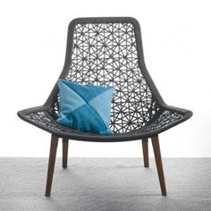 Patricia Urquiola refreshes Maia outdoor furniture  with teak and hand-braided rope