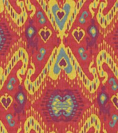 Home Decor Print Fabric-Waverly Enlightened  Fiesta