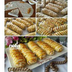 Yufkalı Kafes Böreği tarif sahibi @suzaninmutfakdunyasi 'na teşekkürler Malzemeler 6 adet yufka
