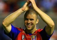 Chris Wingert of Real Salt Lake. One of the nicest and hottest guys you could ever meet ;-)