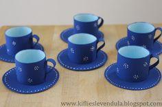 Kifli és levendula: Játék teáskészlet