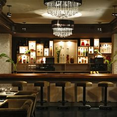 The Drawing Room in Chicago, IL At this subterranean restaurant and lounge, visitors can have their drinks prepared from a custom-made bar cart, accompanied by a cocktail history lesson. thedrchicago.com