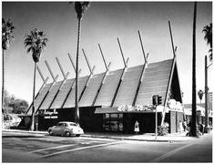 Coffee Dans, Van Nuys, CA. Early 1960s. Kittridge/Van Nuys Blvd.