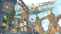 帝国少年~( ´ ▽ ` )ノ(@tksn4tt) 님 | 트위터의 미디어 트윗 Fantasy Background, Fantasy Concept Art, Beautiful Fantasy Art, Fantasy Setting, Environment Design, Environmental Art, Background Pictures, Fantasy Landscape, Anime Scenery