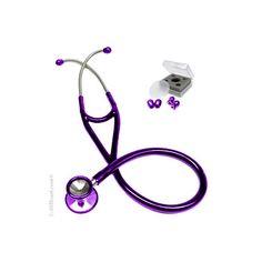 allheart Cardiology #Stethoscope in gorgeous #purple