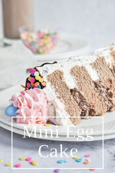 Mini Eggs Cake Recipes, Cookie Recipes, Dairy Free Chocolate, Easter Chocolate, Vanilla Buttercream, Buttercream Frosting, Chocolate Ganache Drip Cake, Egg Cake, Cake Layers