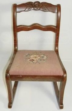 1940 S Tell City Chair Co Mahogany Duncan Phyfe Sewing Rocker Chalk Painted An The Traveling Tortoise Completed Project Portfolio Before And