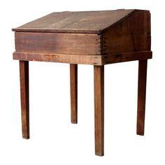 Antique Slant Top Desk