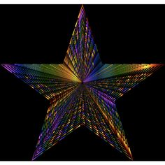 Psychedelic 3D Star Spikes 3d Star, Star Shape, Spikes, Black Backgrounds, Psychedelic, Stars, Cnd Nails, Studs, Riveting