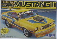 MPC Mustang II model
