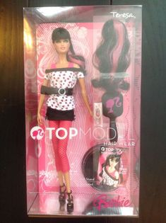 NEW Barbie The Look Party Perfect Doll Black White Pink Gift Bag ~ Model Muse