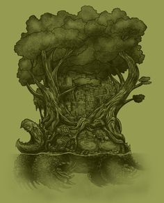 Atlas Art Print by Nick Volkert - X-Small