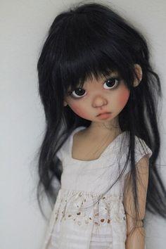 JpopDolls.net ™::Dolls::Kaye Wiggs Dolls::Gracie::Gracie Human in sunkissed skin on MSD body