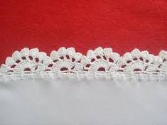 Resultado de imagen para puntillas a crochet para manteles