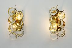 Pair of Wall Sconces by Bakalowits, Austria, 1960s image 3