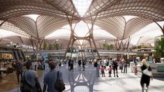A Transport Hub, Win Competitions, Foster Partners, Zaha Hadid Architects, Science Museum, Construction Design, Aviation Industry, Amazing Spaces, Heathrow Airport