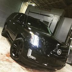 2015 Blacked Out Cadillac Escalade