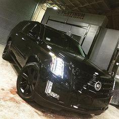 2015 Blacked Out Cadillac Escalade