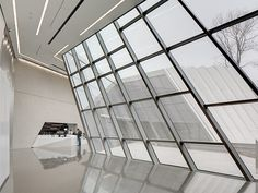 Eli & Edythe Broad Art Museum by #ZahaHadid in East Lansing, MI USA