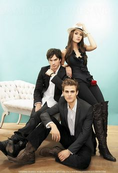 Ian, Paul & Nina.Love watching vampire diaries.Please check out my website thanks. www.photopix.co.nz