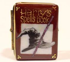 Magician Spell Book Limoges box