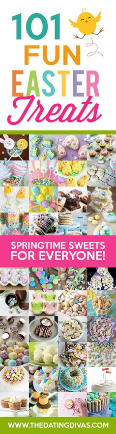 How cute is this?! My kids are going to love these adorable Easter/spring treat ideas!