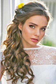 18 schönsten und stilvollen Hochzeit Frisuren