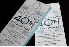 a selection of graphic projects Adult Birthday Party, 40th Birthday Parties, Birthday Diy, Birthday Celebration, Invitation Design, Invitation Cards, Invitation Ideas, Diy Birthday Invitations, Invites