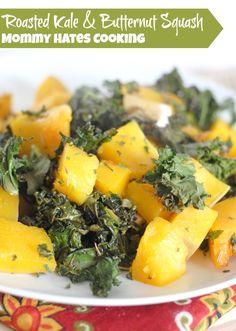 Roasted Kale & Butternut Squash