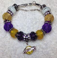 Los Angeles Lakers Bracelet - $25