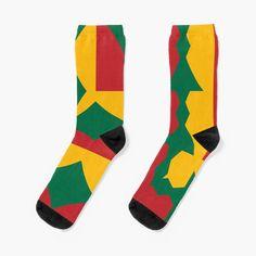 My Socks, Crew Socks, Buy Flags, Patterned Socks, Lithuania, Chiffon Tops, Art Prints, Printed, Knitting