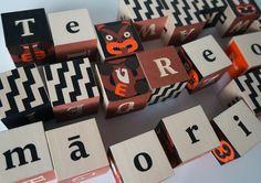 Johnson Witehira - Maori Alphabet Blocks.jpg